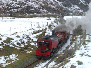 138_BWH27-12-10Castell Cidwm in snow with Funkey.jpg (137198 bytes)