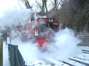 138_BWH27-12-10with Funkey Caernarfon dep in snow-steam.jpg (76384 bytes)