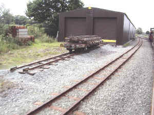 Carriage shed track extension.JPG (79946 bytes)