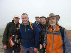 Three Peaks_AS24-6-11Team on top of Scafell Pike.jpg (44451 bytes)